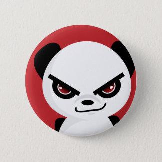 Evil Panda Badge Pinback Button