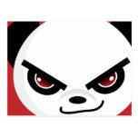 Evil Panda Postcard
