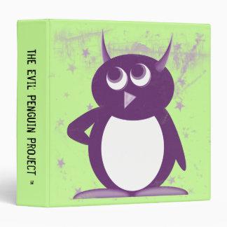 "Evil Penguin™ Back to School Binders! 1.5"" Size Binder"