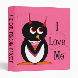 "Evil Penguin™ Back to School Binders! 1"" Size 3 Ring Binders"