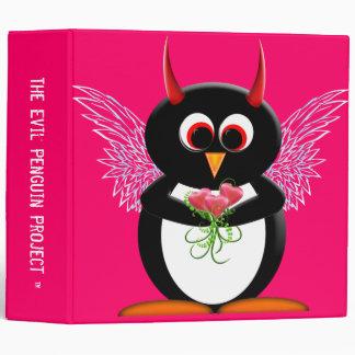 "Evil Penguin™ Back to School Binders! 2"" size 3 Ring Binders"