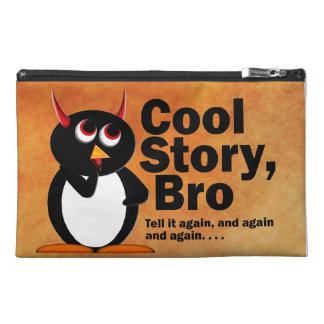 Evil Penguin Cool Story Bro Travel Accessory Bag
