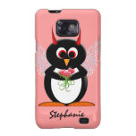 Evil Penguin Cupid Samsung Galaxy S Covers