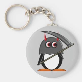 Evil Penguin™ Cute Executioner Key Chain