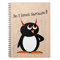 Evil Penguin™ Funny Binder, Back to School Notebook