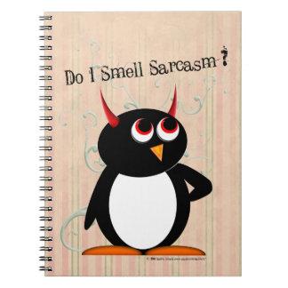 Evil Penguin™ Funny Notebooks