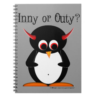 Evil Penguin™ Note Book