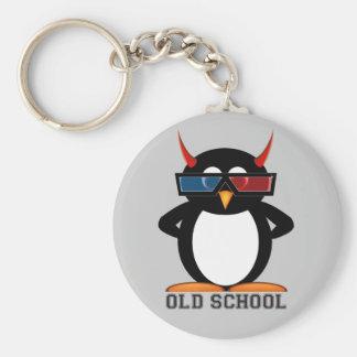 Evil Penguin™ Old School 3D Key Chain