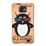Evil Penguin Old School Samsung Galaxy SII Cover