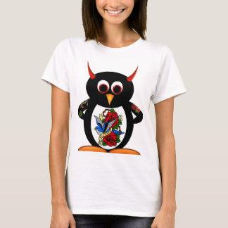 Evil Penguin Tattoo T-Shirt