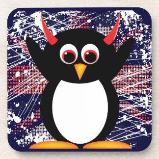 Evil Penguin™ Union Jack Drink Coaster