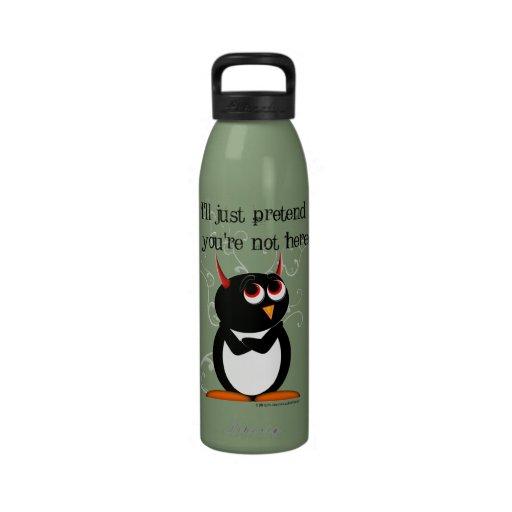 Evil Penguin Drinking Bottles