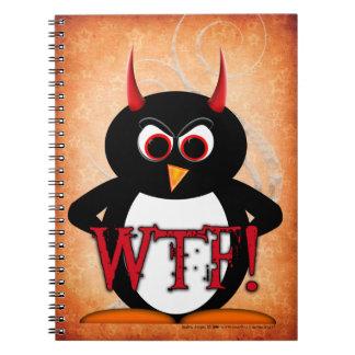 Evil Penguin™ WTF Note Books