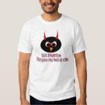 Evil Penguins HIde Under My Bed Tee Shirt