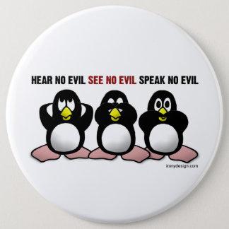 Evil Penguins Pinback Button