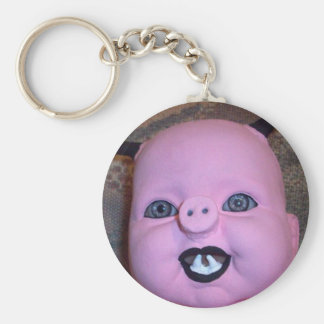Evil Pig Keychain