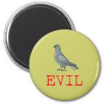 Evil Pigeon Fridge Magnets