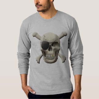 Evil Pirate Skull & Crossbones T-Shirt