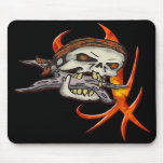 Evil Pirate Skull Mouse Pads