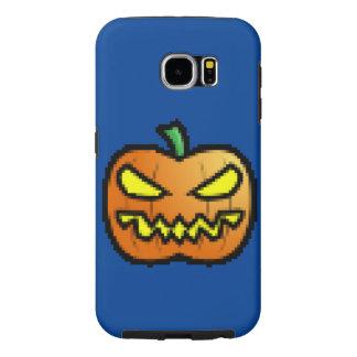 Evil Pixel Pumpkin Samsung Galaxy S6 Case