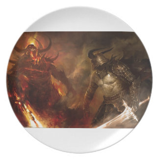 Evil Party Plate