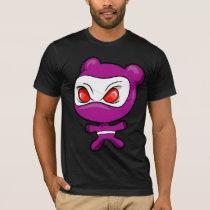 Evil Polar Bear Warrior Ninja  T-Shirt