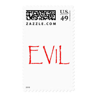 Evil Postage Stamp
