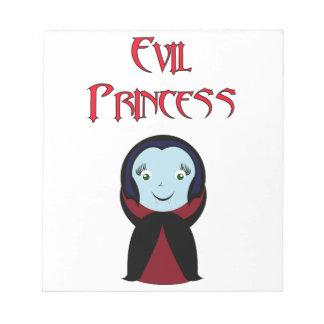 Evil Princess Srached pad