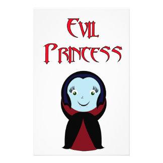 Evil Princess Stationery