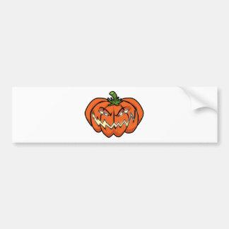 Evil Pumpkin Bumper Sticker