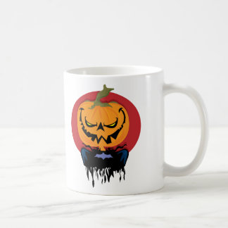 Evil Pumpkin Classic White Coffee Mug