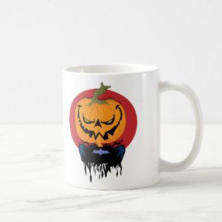 Evil Pumpkin Coffee Mugs
