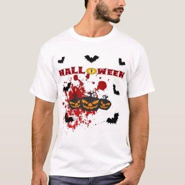 Halloween Themed Evil pumpkin Halloween T-Shirt