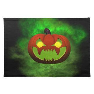 Evil Pumpkin Placemat