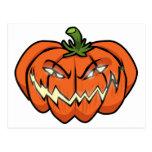 Evil Pumpkin Post Cards