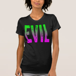 EVIL PURPLE AND GREEN HORROR ZOMBIE T-Shirt