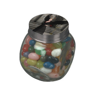 Evil Queen Glass Candy Jars
