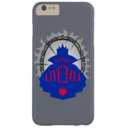 Case-Mate Barely There iPhone 6 Plus Case with Evil Queen: Long Live Evil design