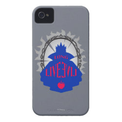 Case-Mate iPhone 4 Barely There Universal Case with Evil Queen: Long Live Evil design