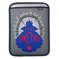 Evil Queen: Long Live Evil iPad Sleeve