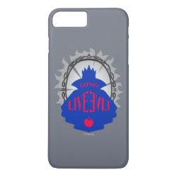 Case-Mate Tough iPhone 7 Plus Case with Evil Queen: Long Live Evil design