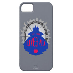Case-Mate Vibe iPhone 5 Case with Evil Queen: Long Live Evil design