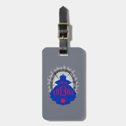 Evil Queen: Long Live Evil Small Luggage Tag with leather strap