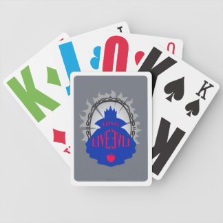 Evil Queen - Long Live Evil Bicycle Playing Cards