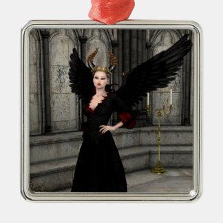 Evil Queen Metal Ornament