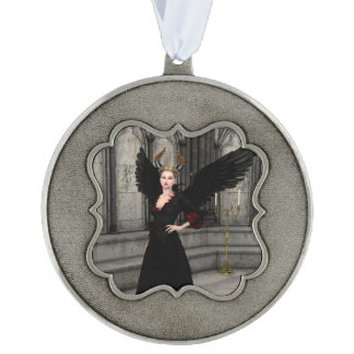 Evil Queen Pewter Ornament