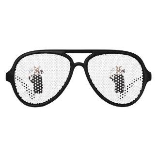 Evil Rabbit Aviator Sunglasses