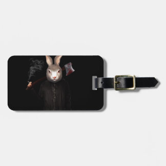 Evil Rabbit Bag Tag