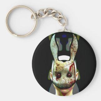 Evil Rabbit Keychain