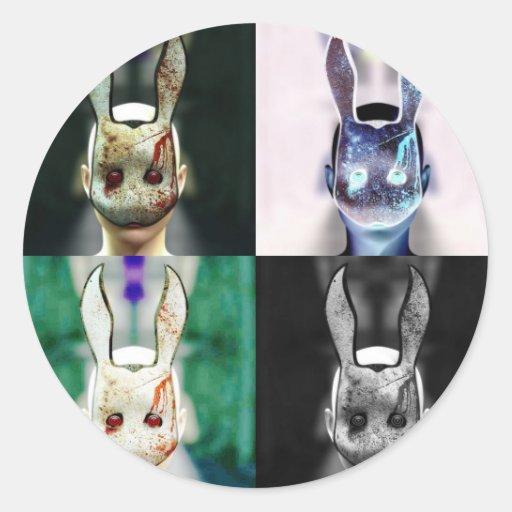 Evil Rabbit Stickers